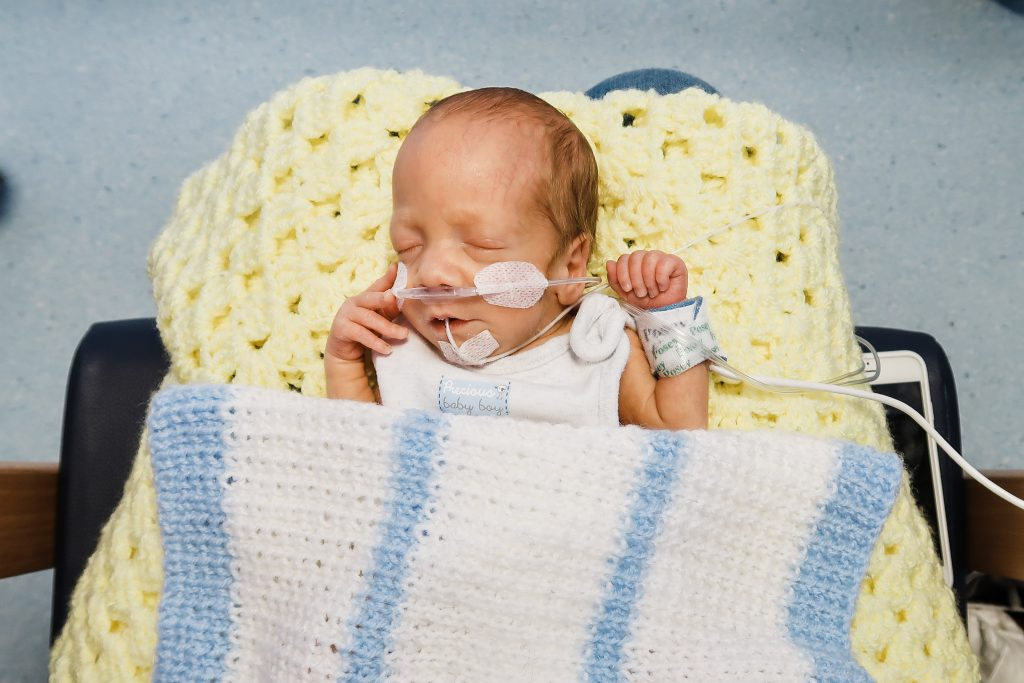 Premature baby photography
