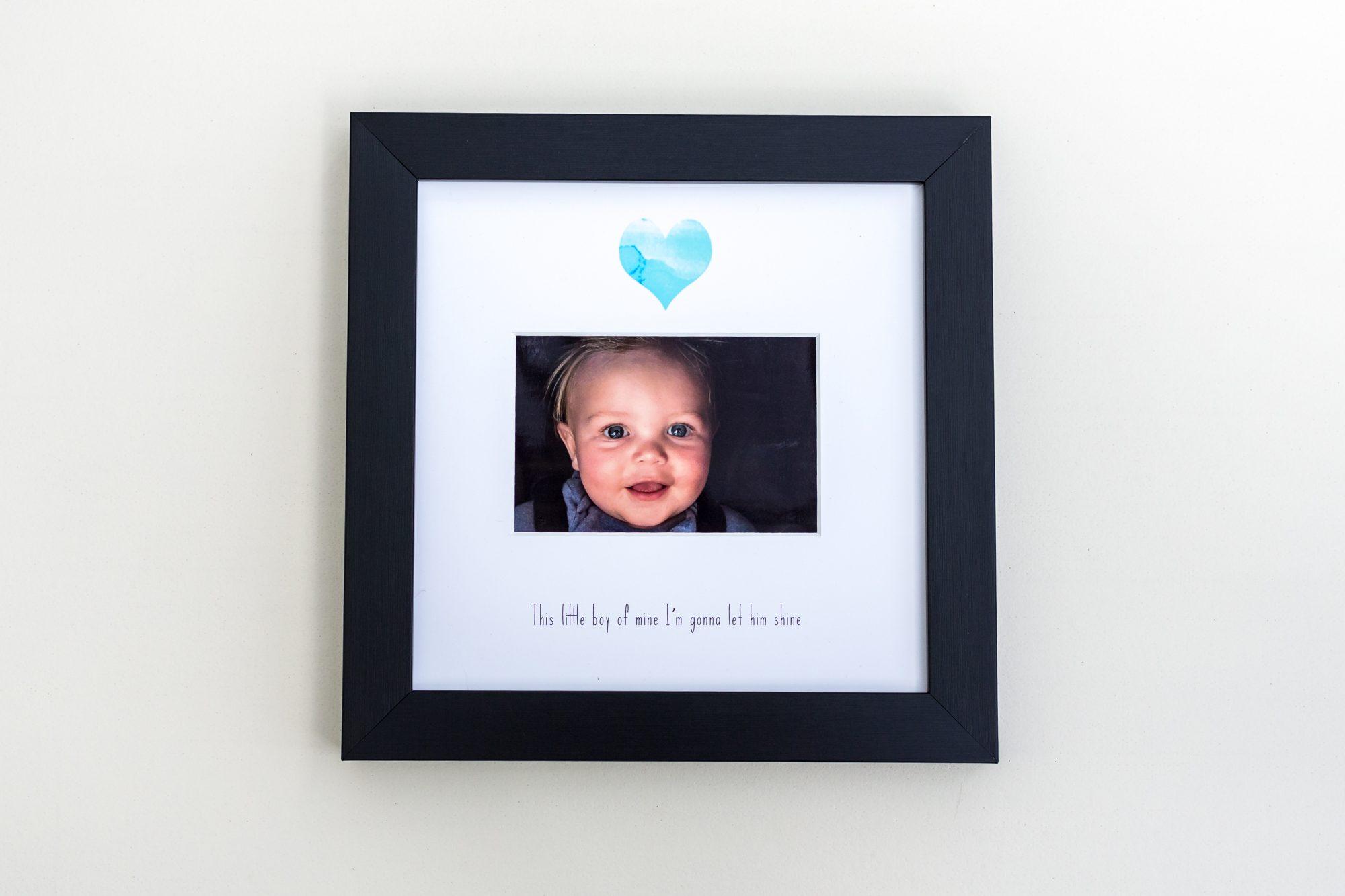 Casting Love photo frame