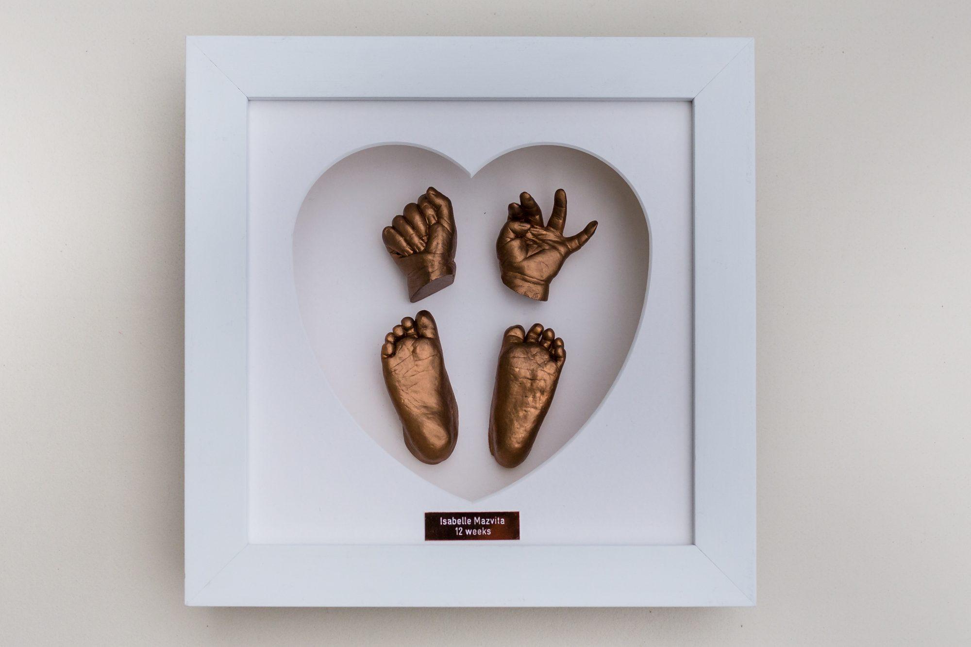 Casting Love bronze casts