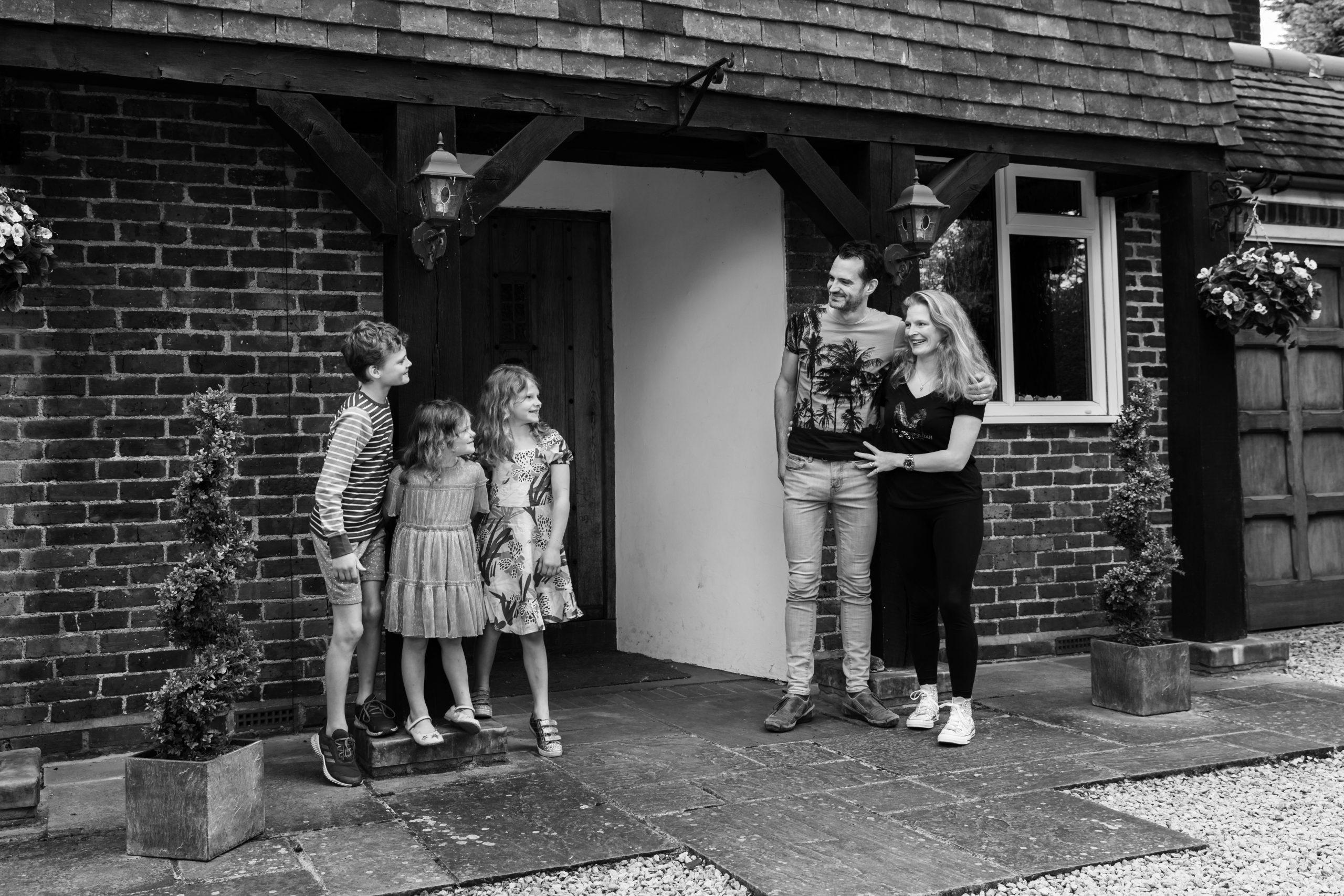 weybridge family photography, lockdown photographer
